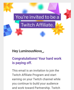Twitch Affiliate Screenshot
